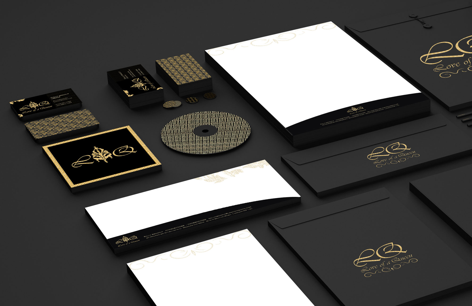 Love of a Queen Branding and Identity Design Project