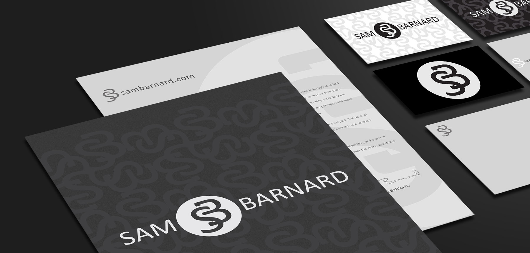 Sam Barnard Branding and Identity Design Project