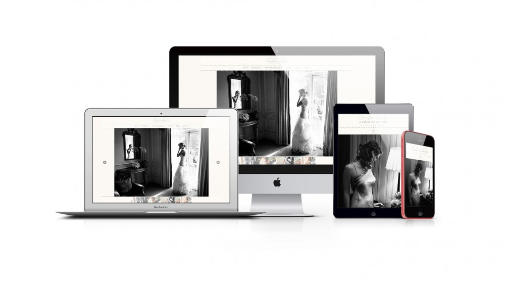web design - cameo photography