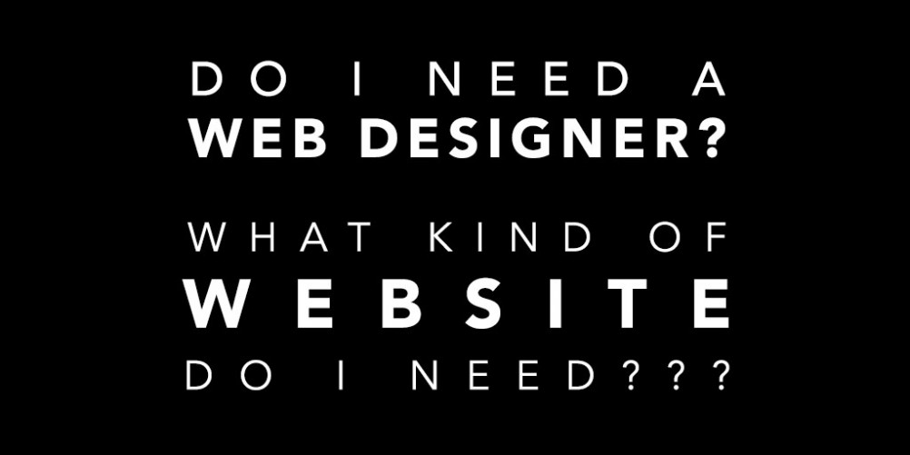 do i need a web designer barnet enfield london