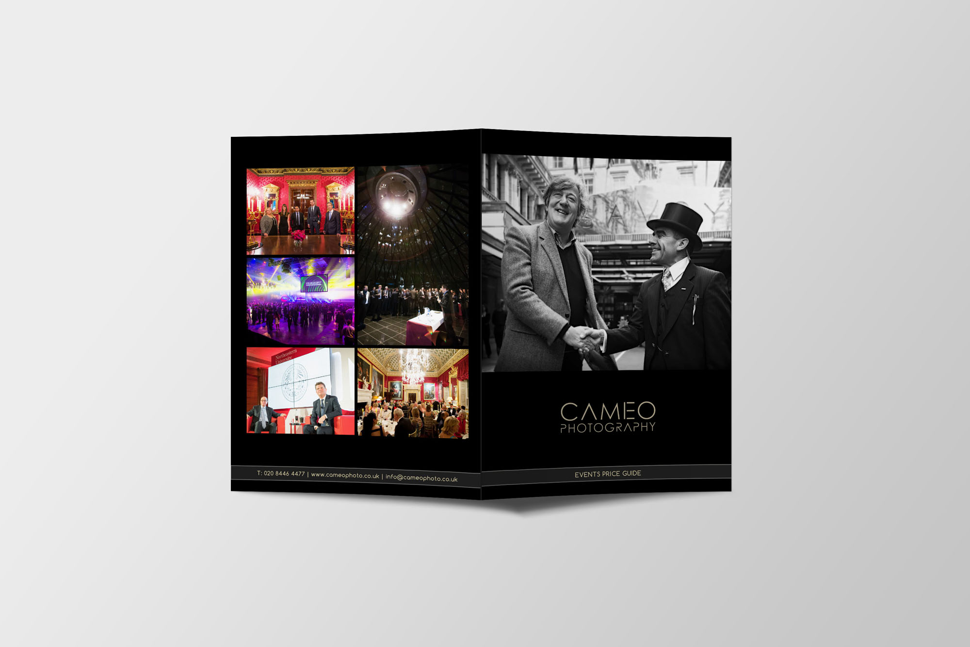 Cameo Photography Marketing and Advertising Design Project