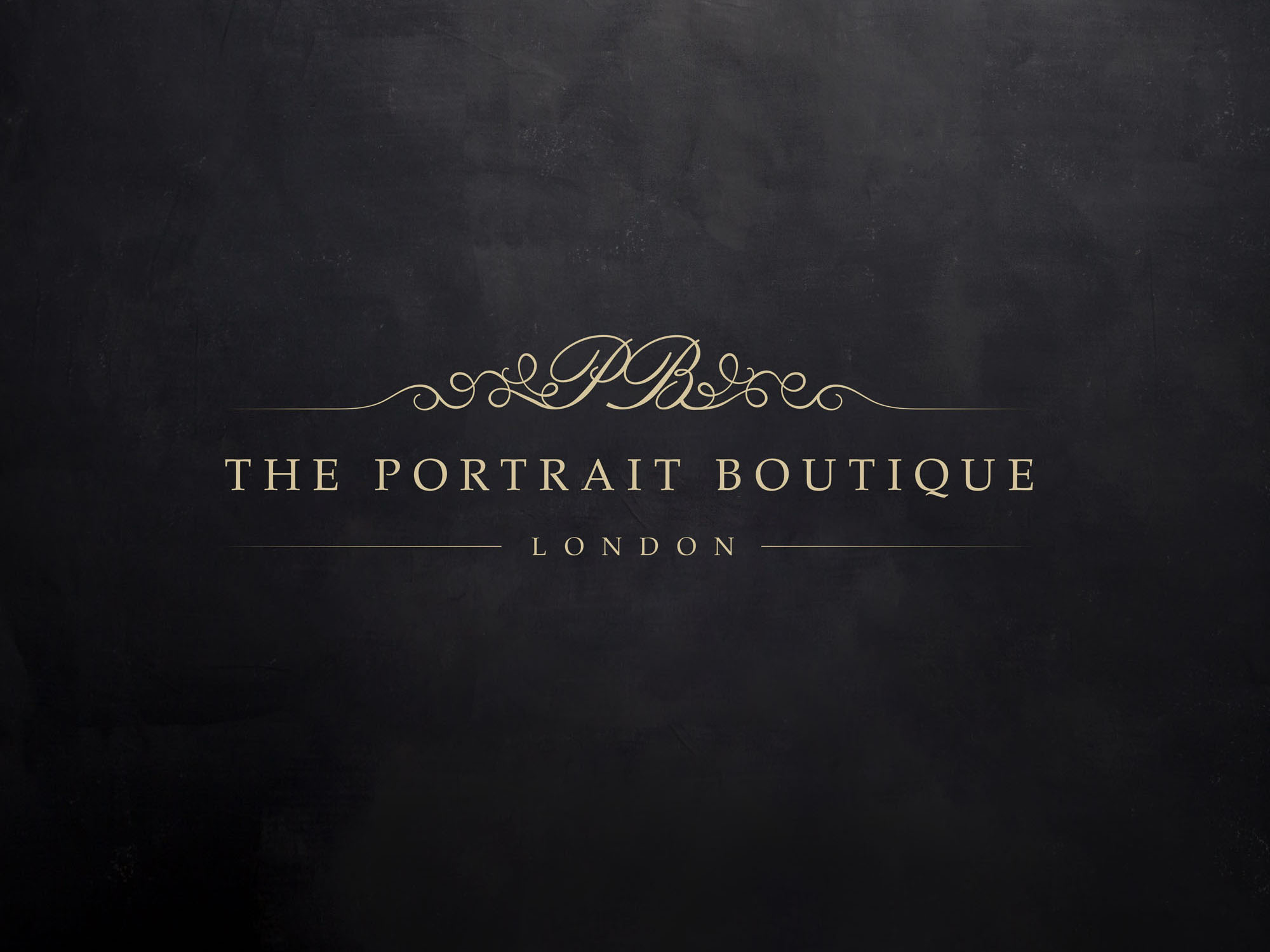 The Portrait Boutique London Branding and Identity Design Project