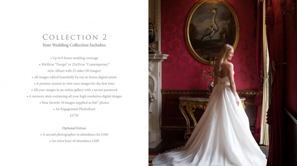 Wedding Welcome Brochure PDF Design London