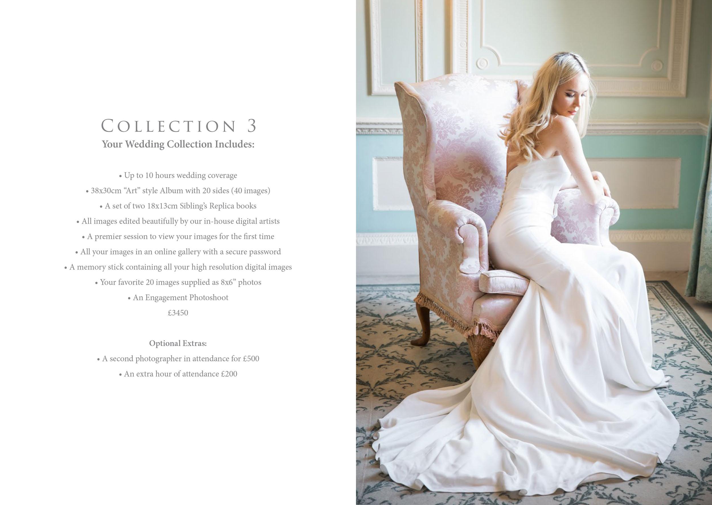 Wedding Welcome Brochure PDF Design London