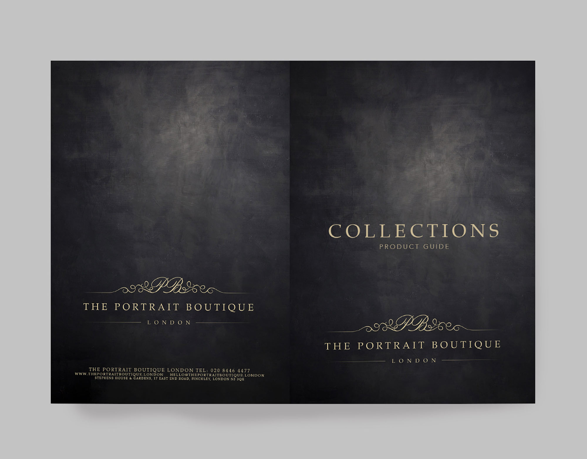Brochure Design, Price Guide Design, Photographers
