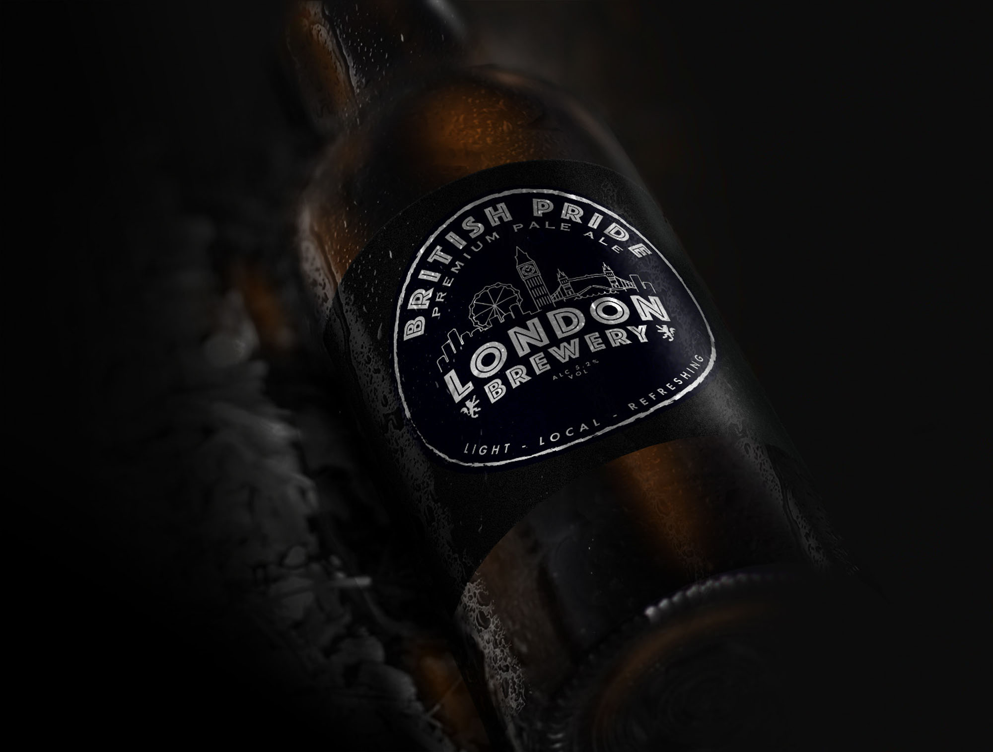 London Brewery Packaging Design Project