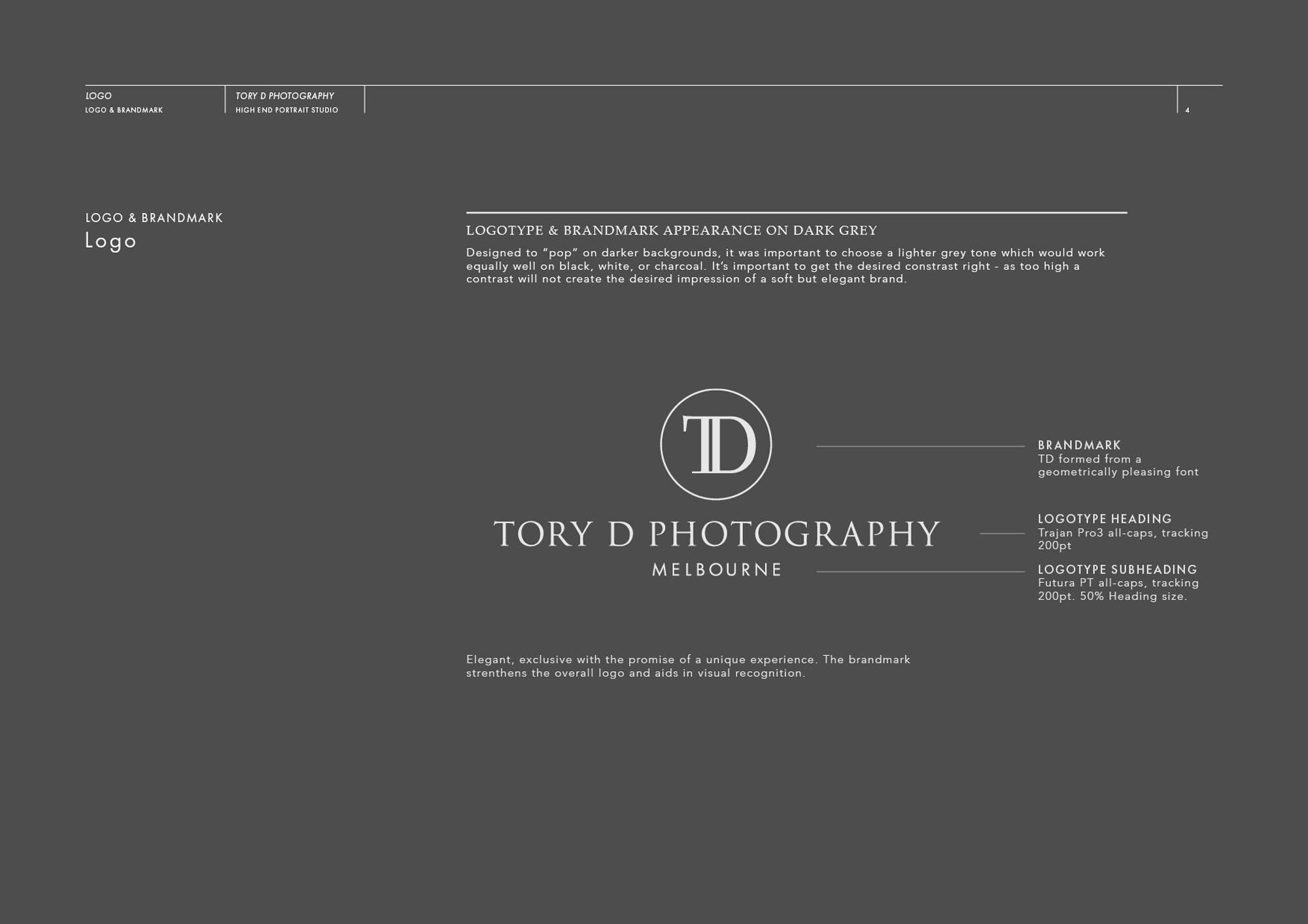 Tory D Photography Newborn Brand Identity
