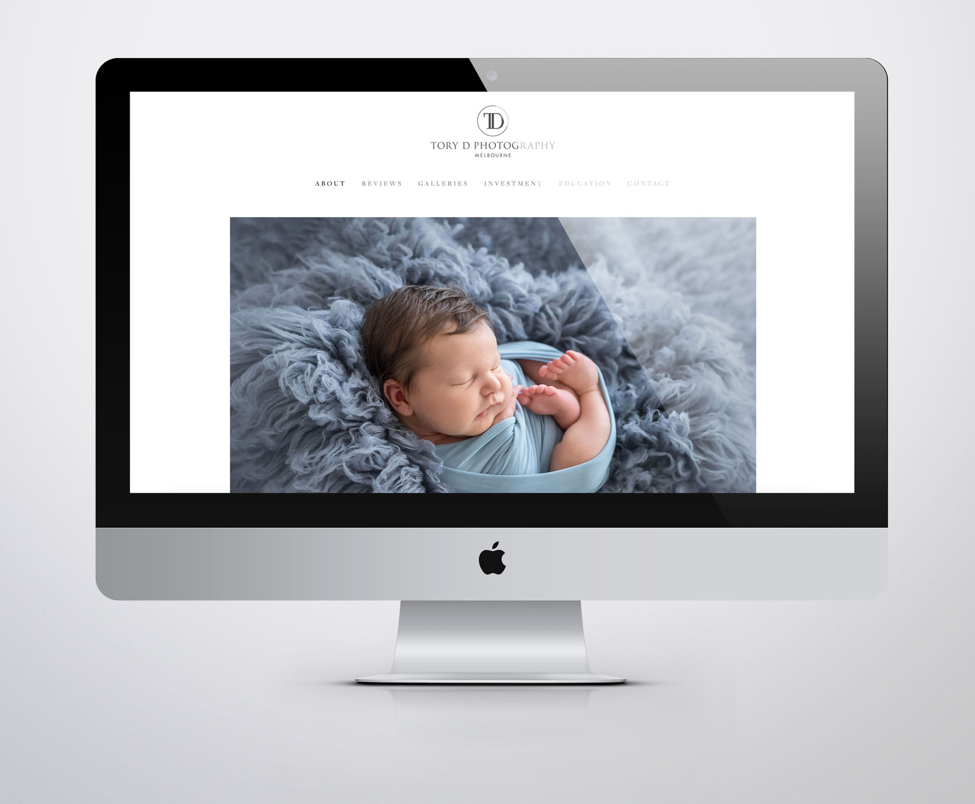Tory D Photography Web Design Website for Photographers