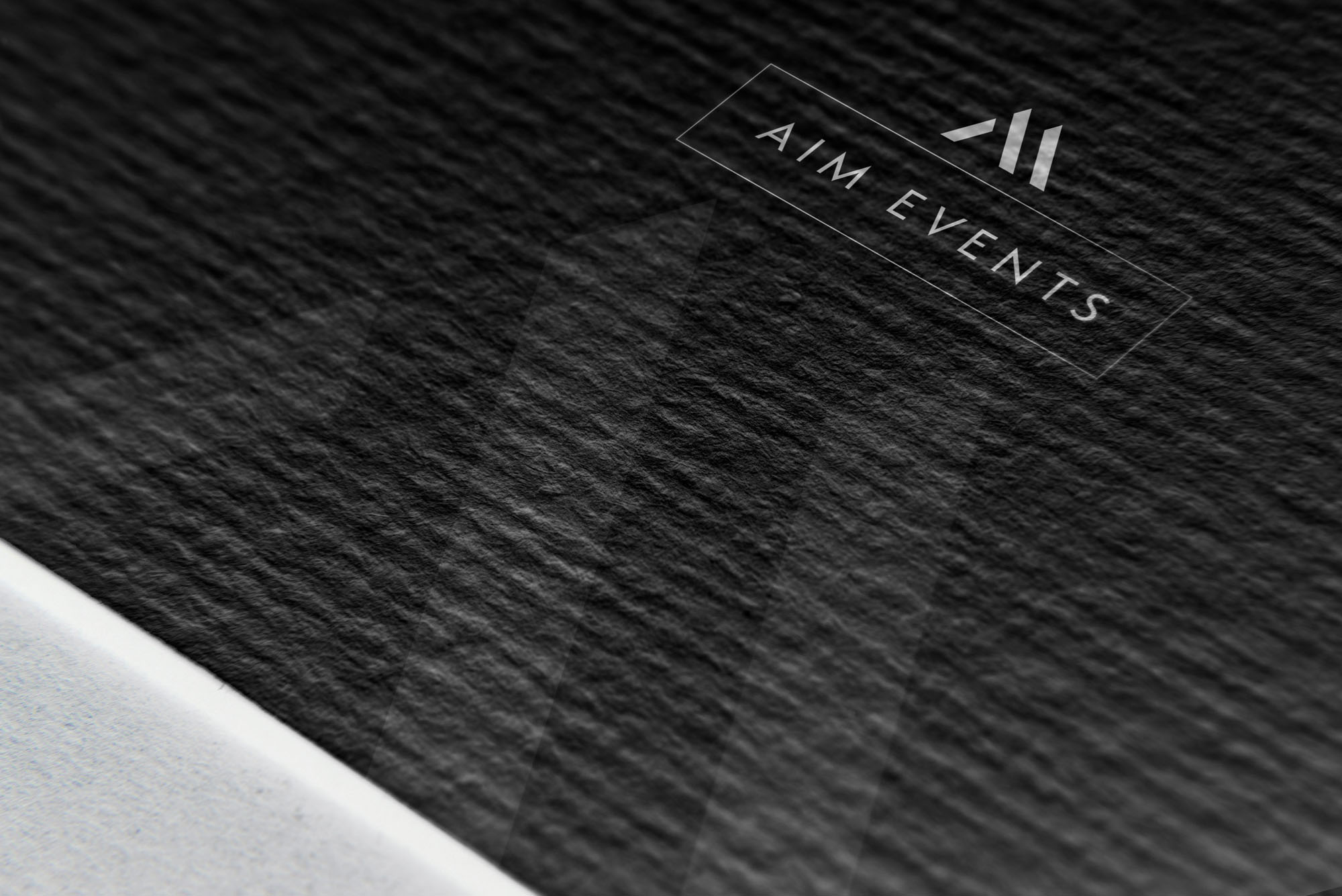 AIM Events London Branding and Identity Design Project