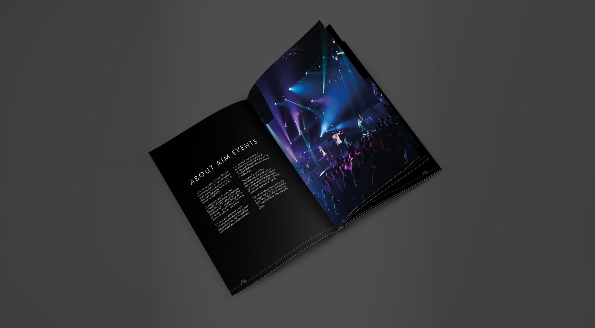 Brochure Design, Luxury Brochure, High End Brochure
