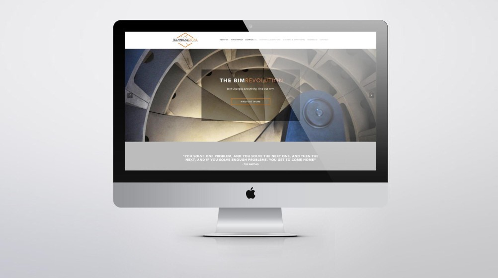 Architectural Technologist Website Design London