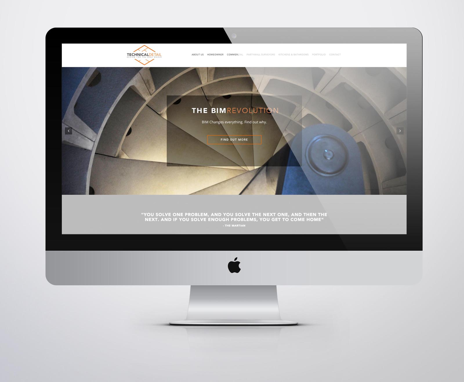 Architects Website - High End Website Design