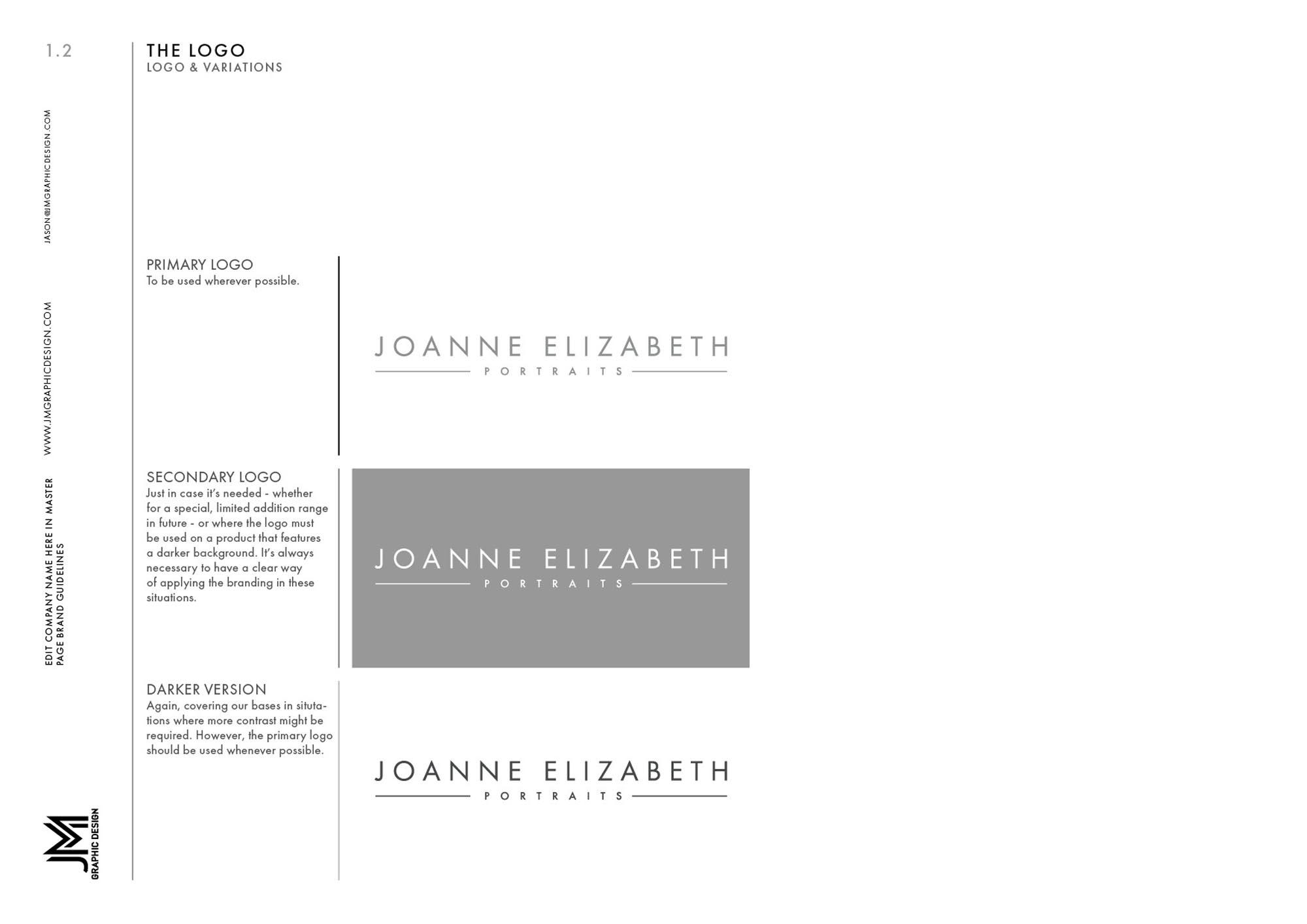 Joanne Elizabeth Photography - Brand Guidelines2