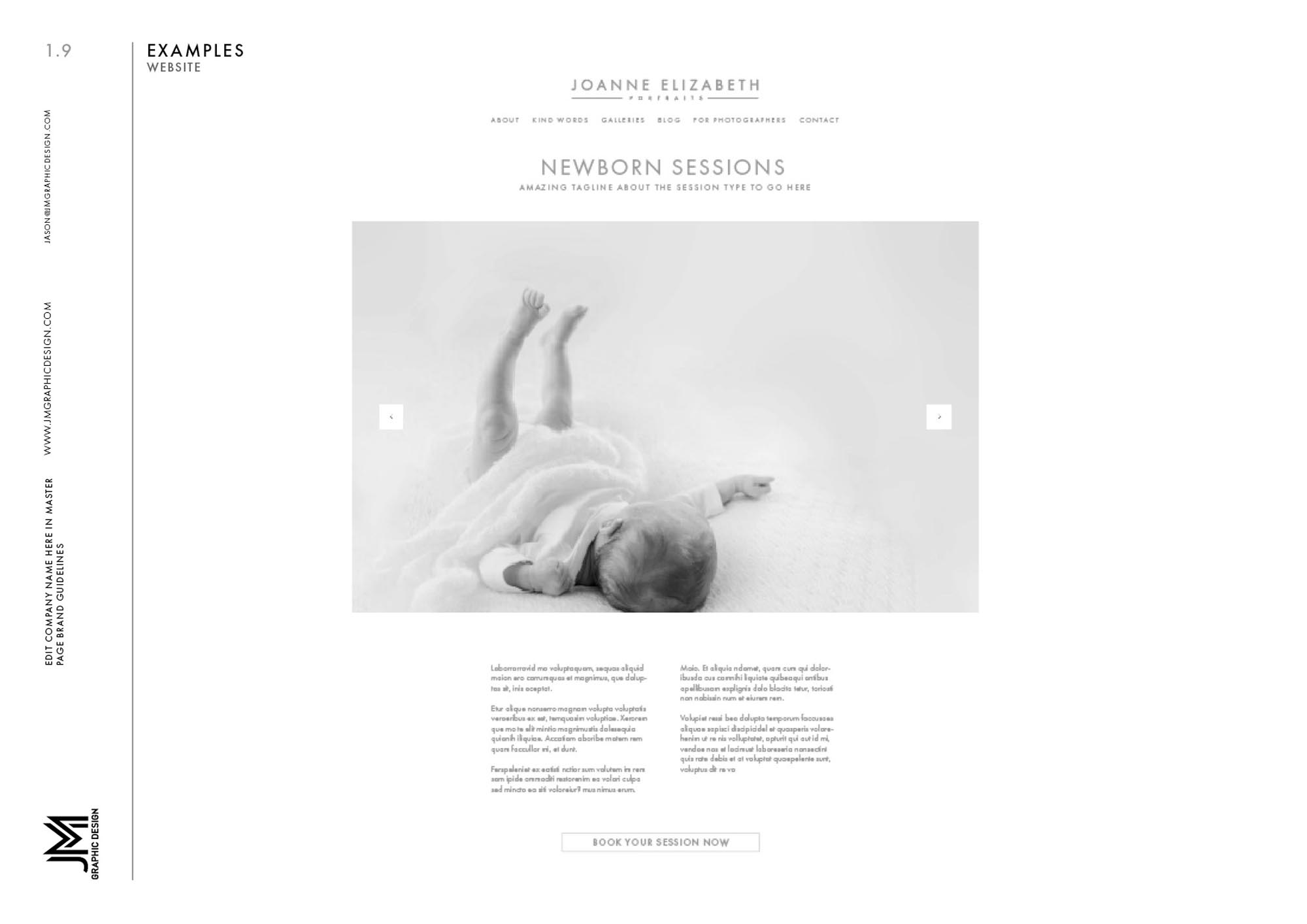 Joanne Elizabeth Photography - Brand Guidelines9