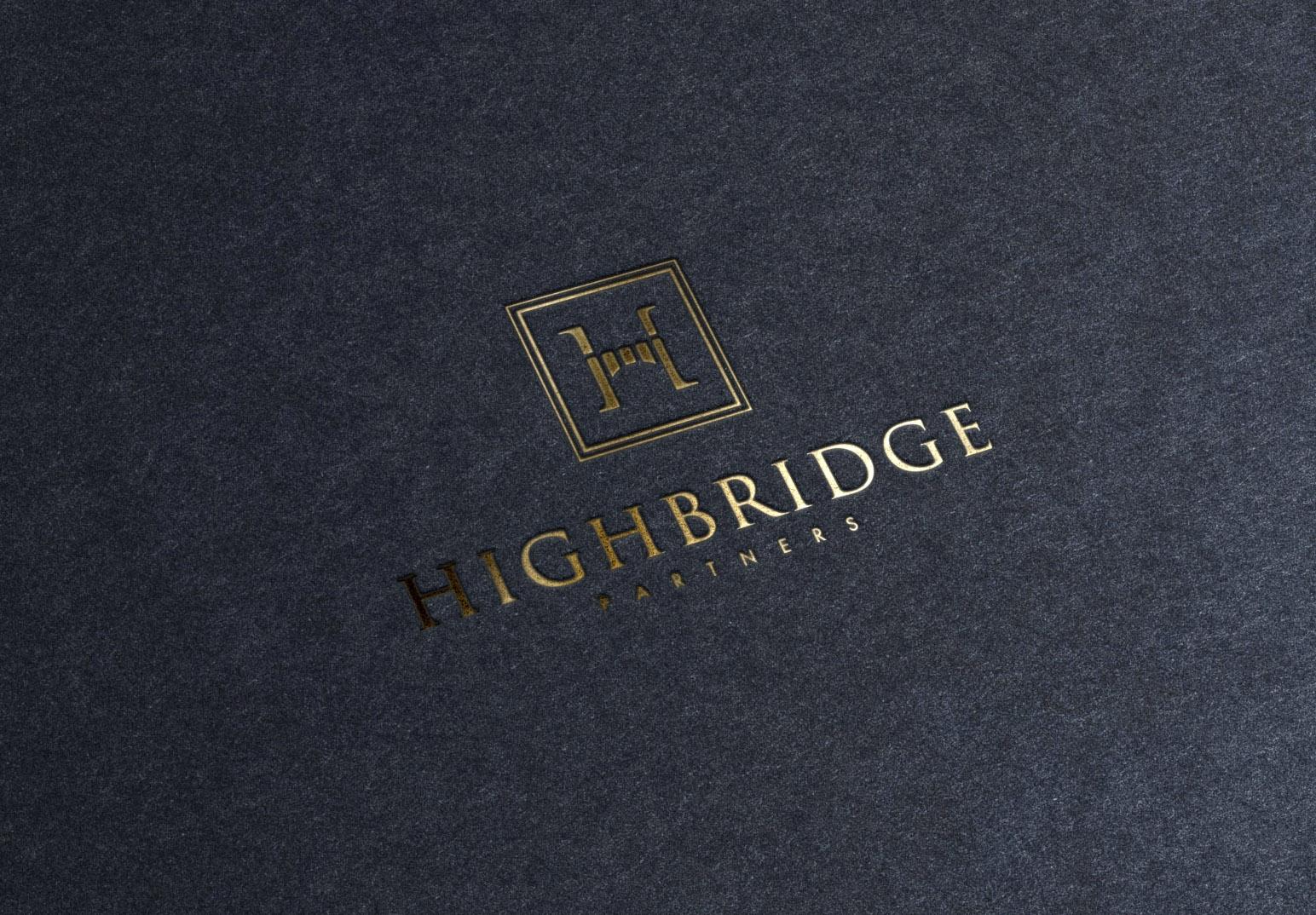 Highbridge Partners London Branding and Identity Design Project